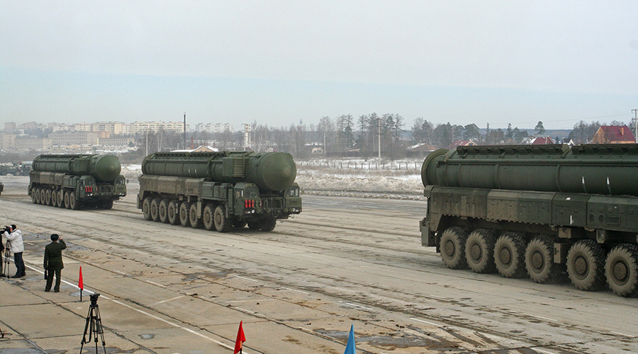 Russian senator promises nuclear response to NATO expansion