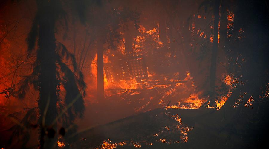 Israeli rabbi says it's OK to break Sabbath and shoot Arab arsonists amid raging wildfires