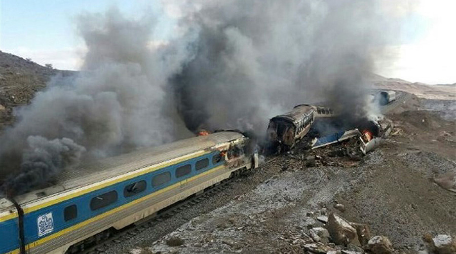 At least 44 killed, over 100 injured in horrifying train collision in Iran (VIDEOS)