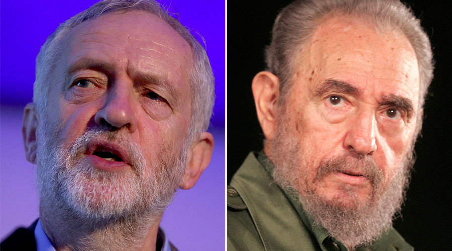 No amigos? Top British political figures snub Castro's funeral