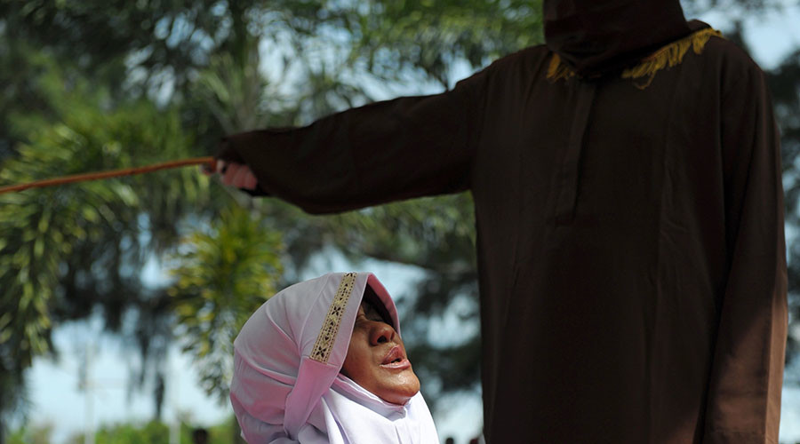 Students get 100 lashes for sex outside marriage in Indonesia