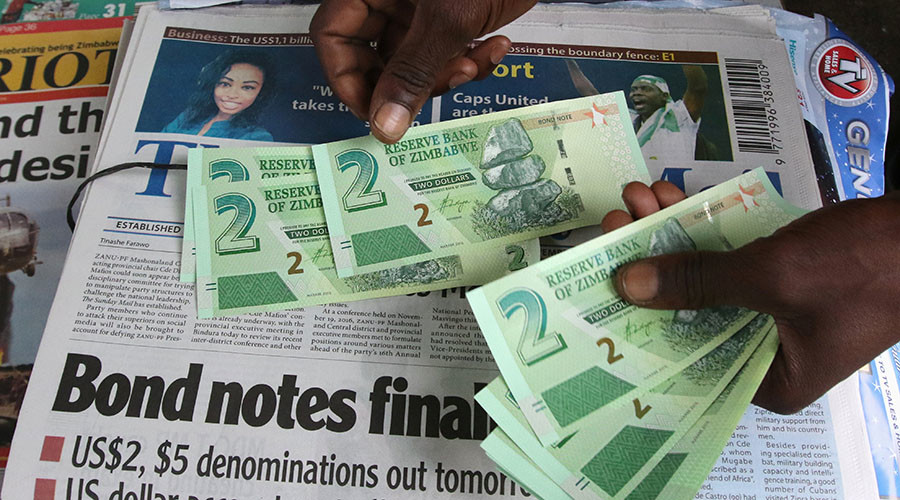 Zimbabwe launches new currency to ease cash crunch