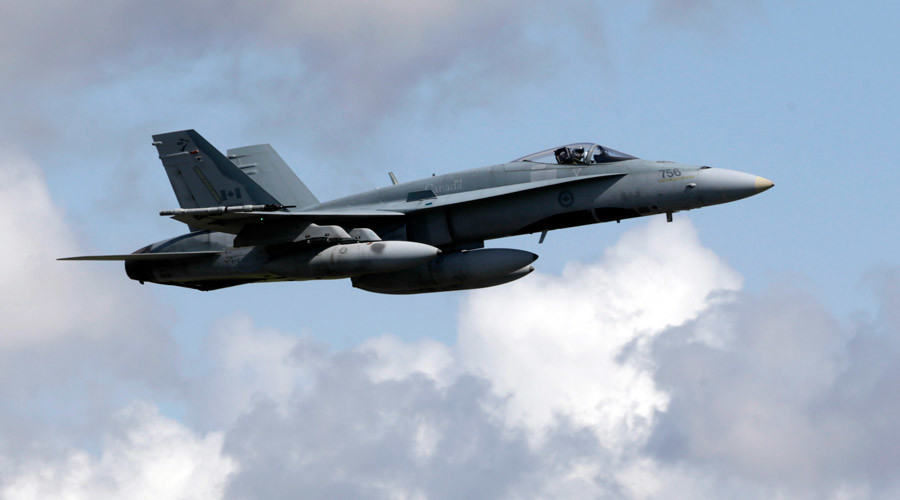 Pilot dies after Canadian CF-18 fighter jet crashes in Alberta