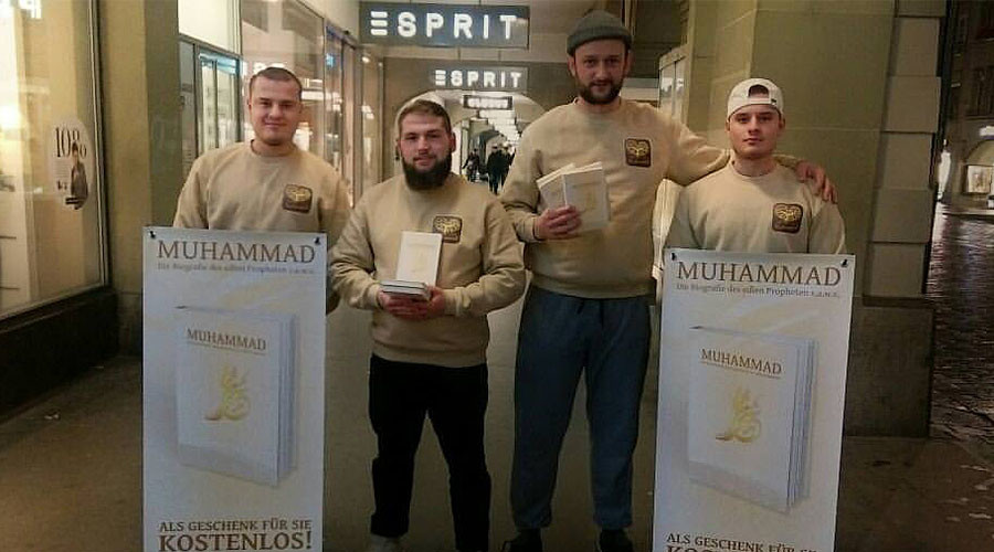 Salafist group 'We Love Muhammad' hands out bios of prophet in German cities