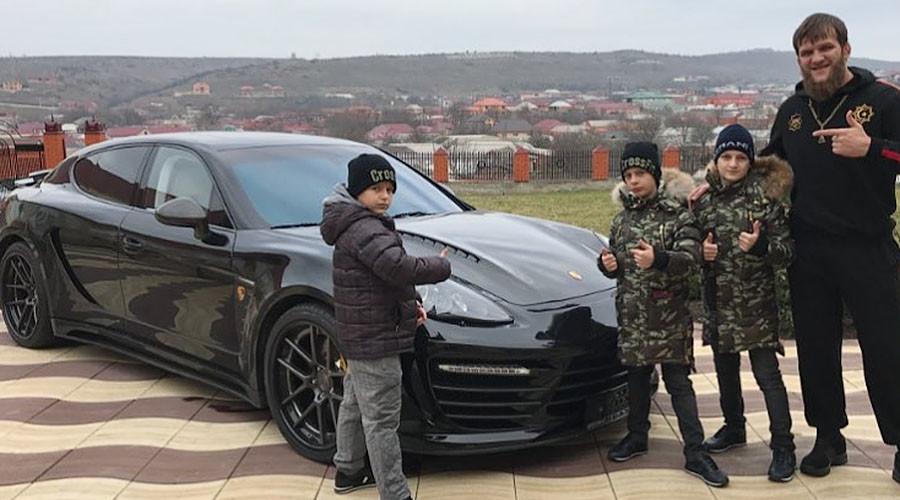 Chechen leader Kadyrov's sons gift UFC fighter $150k Porsche