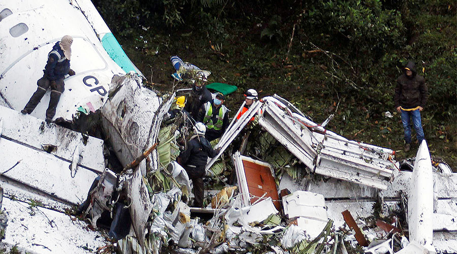 Brazilian football team took doomed flight after being denied charter request