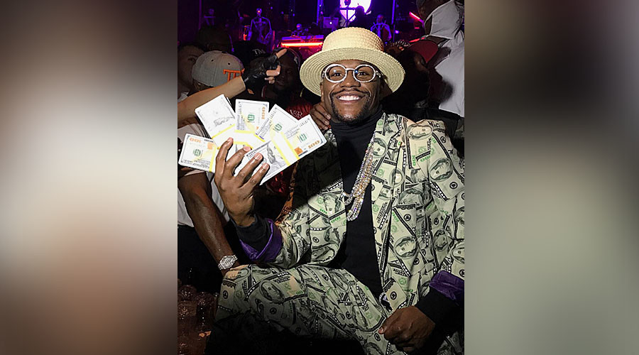 'Money' Mayweather roasts legacy doubters with $100mn check boast
