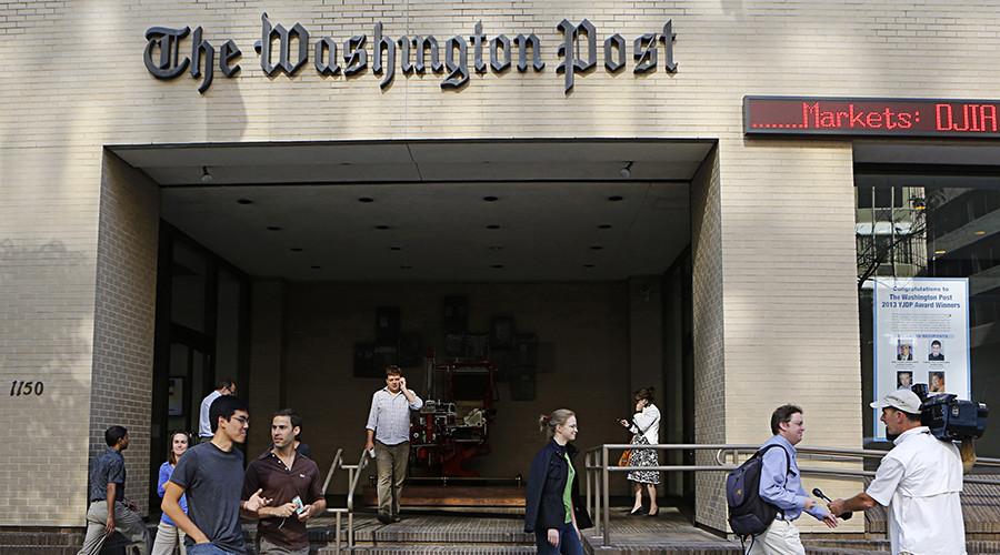 'Shameful & disgusting': Rolling Stone slams WaPo 'fake news' story