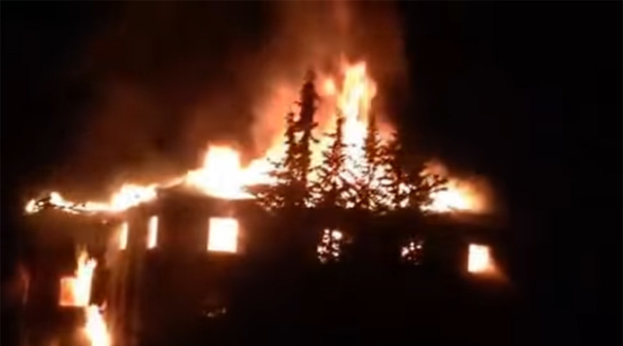 11 female students & adult die in Turkey as massive fire engulfs boarding school dormitory (VIDEO)