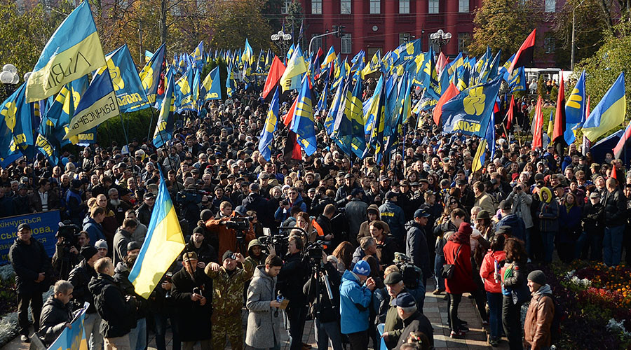 Saving Poroshenko? US State Dept offers $800k to Ukraine NGOs