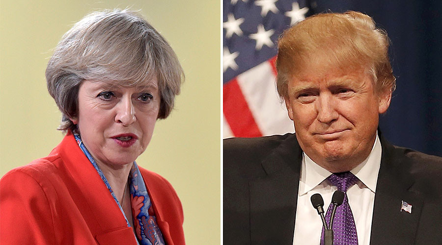 Trump & May talk NATO spending in 2nd phone conference since US election