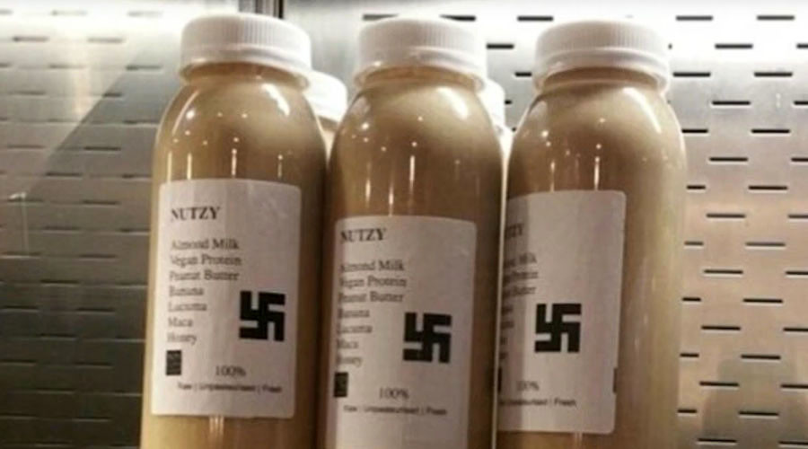 'Nazi smoothie' with swastika label dropped from London café menu