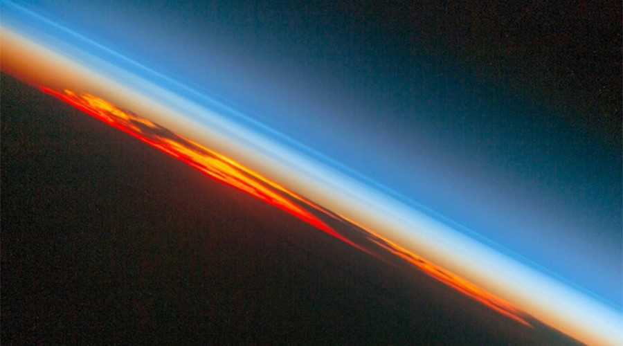 Fiery sunset captured from space by NASA (PHOTO)