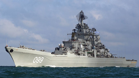 The nuclear-powered heavy cruiser Peter the Great. ©Dover-Marina.com
