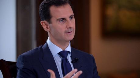 Syria's President Bashar al-Assad © SANA