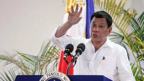 Philippine President Rodrigo Duterte. © Lean Daval Jr