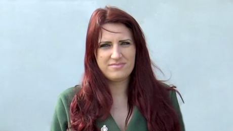 Far-right Britain First deputy leader Jayda Fransen © Britain First