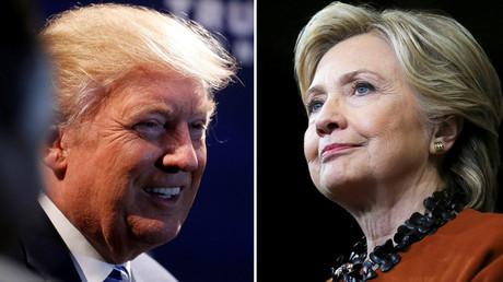 A combination photo shows U.S. Republican presidential nominee Donald Trump and U.S. Democratic presidential candidate Hillary Clinton © Carlo Allegri (L) / Carlos Barria (R)