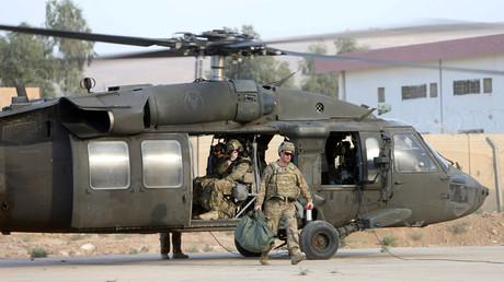 U.S army soldiers © Alaa Al-Marjani