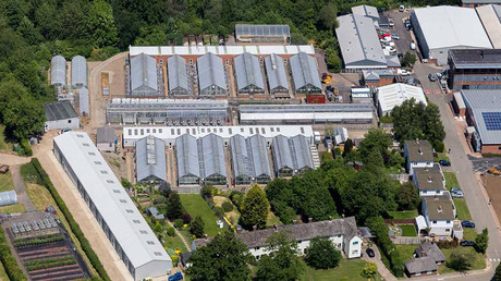 Facility belonging to Rothamsted Research, which is pushing forward with more GMO field trials © Facebook