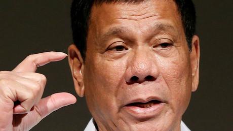 Philippine President Rodrigo Duterte. ©Kim Kyung-Hoon