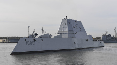 The guided-missile destroyer USS Zumwalt (DDG 1000) © PO2 Timothy Schumaker / US Navy