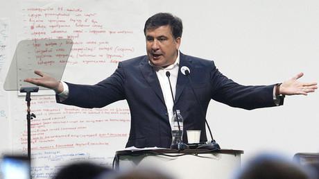 Ukrainian Odessa region governor and former Georgian president Mikheil Saakashvili. ©Anatolii Stepanov