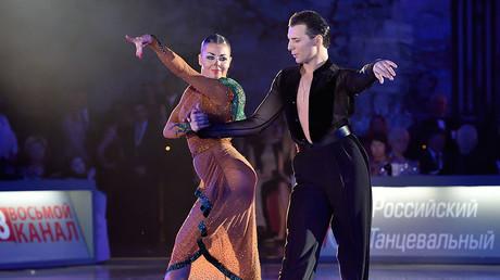 Dorin Frekautanu and Marina Sergeeva of Moldova ©Yuri Konyzhev