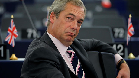 Nigel Farage, United Kingdom Independence Party (UKIP) member and MEP. © Vincent Kessler
