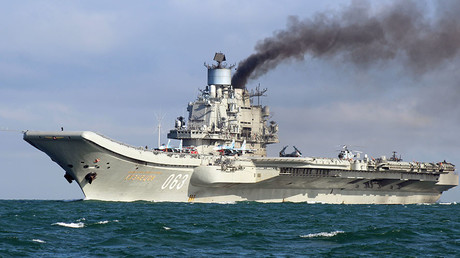 The aircraft carrier Admiral Kuznetsov. © Dover-Marina.com
