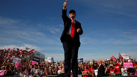 Republican U.S. presidential nominee Donald Trump © Jonathan Ernst