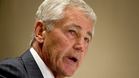 Former U.S. Secretary of Defense Chuck Hagel. © Jacquelyn Martin
