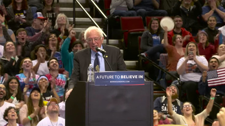 Vermont Senator Bernie Sanders © Bernie 2016