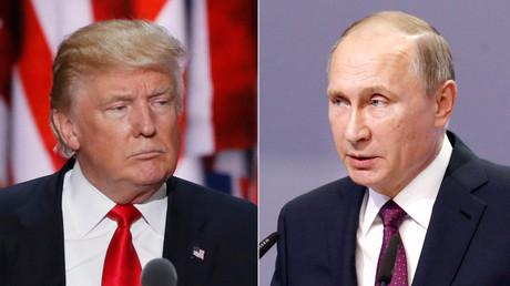 U.S. President-elect Donald Trump and Russian President Vladimir Putin © Reuters