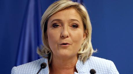 Marine Le Pen © Charles Platiau