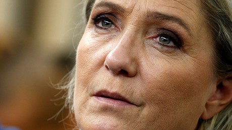 French National Front (FN) leader Marine Le Pen © Jacky Naegelen
