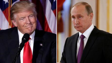 U.S. President-elect Donald Trump,Russia's President Vladimir Putin  © Mike Segar, Sergei Karpukhin