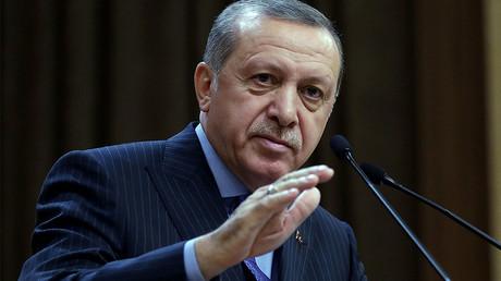 Turkish President Tayyip Erdogan © Murat Cetinmuhurdar / Presidential Palace / Handout via Reuters