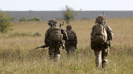 British soldiers on exercise. File photo. © Peter Nicholls