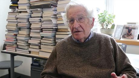 Noam Chomsky. ©PeoplePowerTelevision