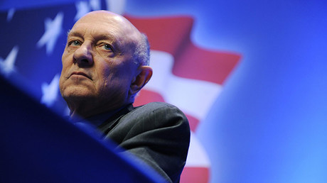 Former director of the U.S. Central Intelligence Agency James Woolsey. © Jonathan Ernst