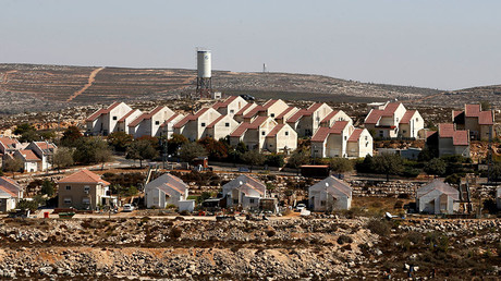 A general view shows houses in Shvut Rachel, a West Bank Jewish settlement located close to the Jewish settlement of Shilo, near Ramallah. ©Baz Ratner