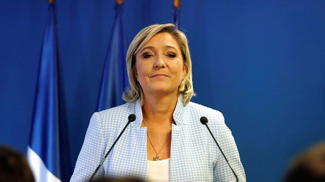 Marine Le Pen, French National Front (FN) political party leader. © Charles Platiau