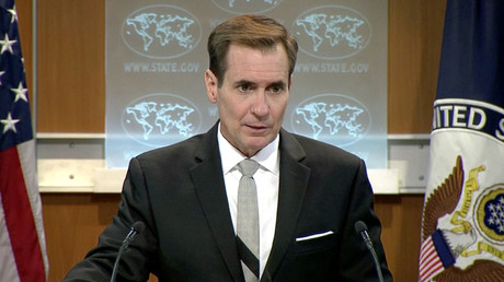 U.S. State Department spokesman John Kirby ©
