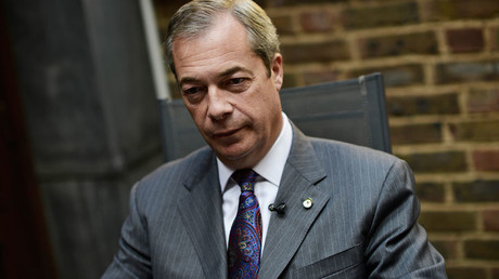 Nigel Farage, leader of the United Kingdom Independence Party © Dylan Martinez