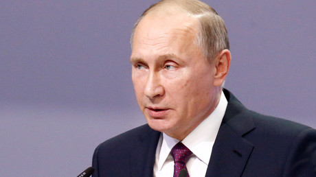 Russian President Vladimir Putin © Sergei Karpukhin