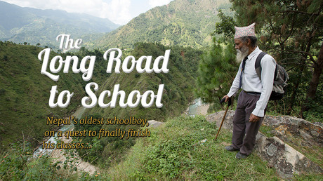 The long road to school