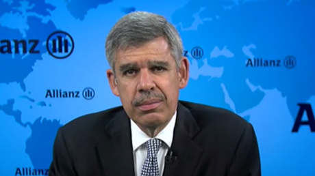 Mohamed El-Erian - the chief economic advisor at global asset management giant Allianz