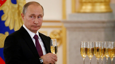 Russia's President Vladimir Putin © Sergey Karpukhin
