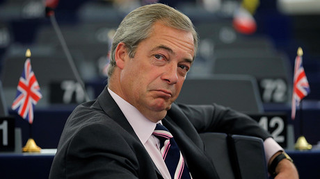 Nigel Farage, United Kingdom Independence Party (UKIP) member and MEP © Vincent Kessler